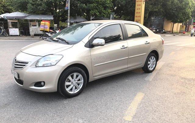 Toyota Vios 1.5MT sản xuất 2012, số tay, màu vàng cát, chính chủ đã vào full kịch đồ chơi, chất lượng không lỗi nhỏ1