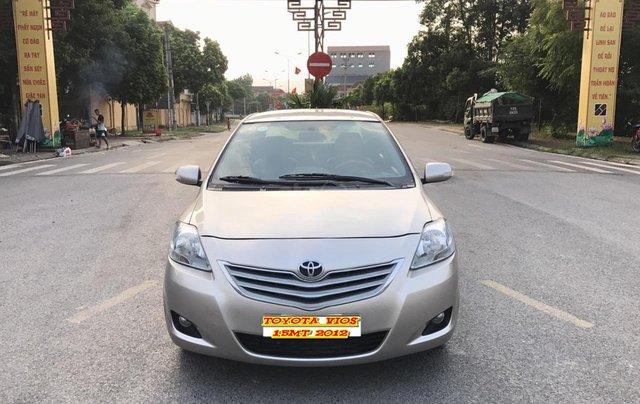Toyota Vios 1.5MT sản xuất 2012, số tay, màu vàng cát, chính chủ đã vào full kịch đồ chơi, chất lượng không lỗi nhỏ0