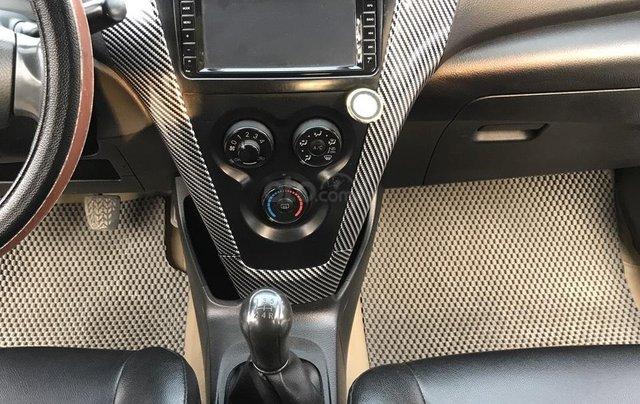 Toyota Vios 1.5MT sản xuất 2012, số tay, màu vàng cát, chính chủ đã vào full kịch đồ chơi, chất lượng không lỗi nhỏ5
