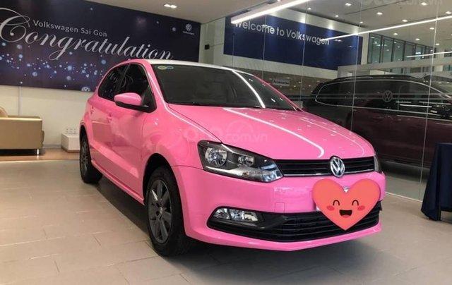 VW Polo màu hồng cute, đi trên phố ai cũng nhìn, không đụng hàng chỉ có ở VW Sài Gòn2