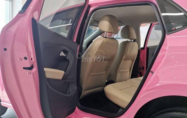 VW Polo màu hồng cute, đi trên phố ai cũng nhìn, không đụng hàng chỉ có ở VW Sài Gòn4