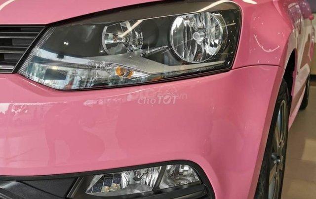 VW Polo màu hồng cute, đi trên phố ai cũng nhìn, không đụng hàng chỉ có ở VW Sài Gòn7