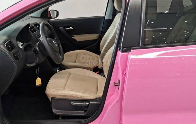 VW Polo màu hồng cute, đi trên phố ai cũng nhìn, không đụng hàng chỉ có ở VW Sài Gòn8