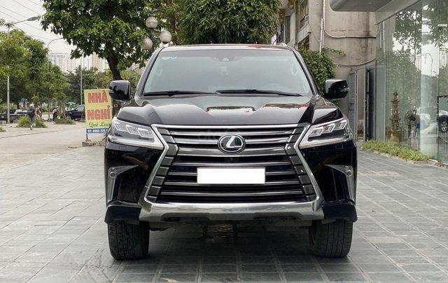Bán xe Lexus LX 570 08 chỗ nhập Mỹ, LH Ms Hương màu đen, sản xuất 2016 giá tốt xe giay toàn quốc0