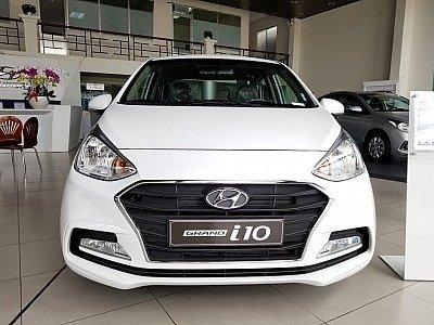 Xe mới 100% duy nhất - Grand i10 MT sedan, giá cực hót, giảm 100% thuế trước bạ, tặng phụ kiện 350tr2
