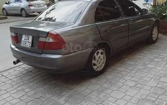 Bán xe Mitsubishi Lancer đời 2000, màu xám, số sàn, xe chính chủ, gia đình đi giữ gìn, giá tốt5