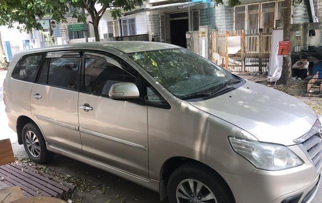 Bán ô tô Toyota Innova 2.0E SX 20151