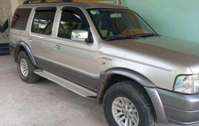 Cần bán Ford Everest sản xuất năm 2006, xe gia đình, giá chỉ 260 triệu1