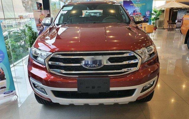 Bán xe Ford Everest sản xuất năm 2020, màu đỏ, nhập khẩu nguyên chiếc0