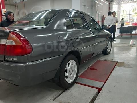 Mitsubishi Lancer xám ghi, số sàn, máy xăng, sản xuất 2000, màn hình dvd, camera hành trình, cảm biến lùi, nội thất zin3