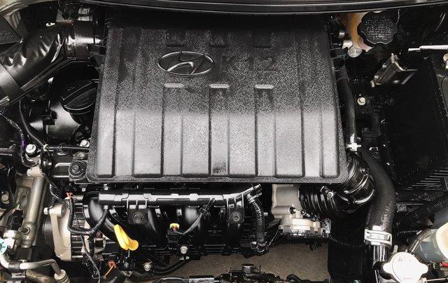 Hyundai Grand i10 1.2 Sport 2016, màu bạc, nhập khẩu. Bản full option bóng khí, đề nổ mới cứng7