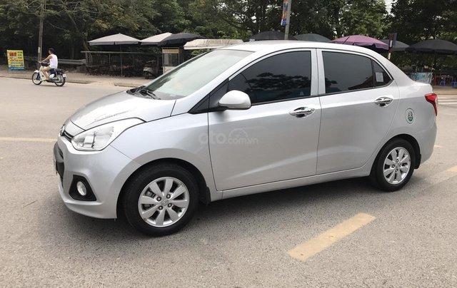 Hyundai Grand i10 1.2 Sport 2016, màu bạc, nhập khẩu. Bản full option bóng khí, đề nổ mới cứng1