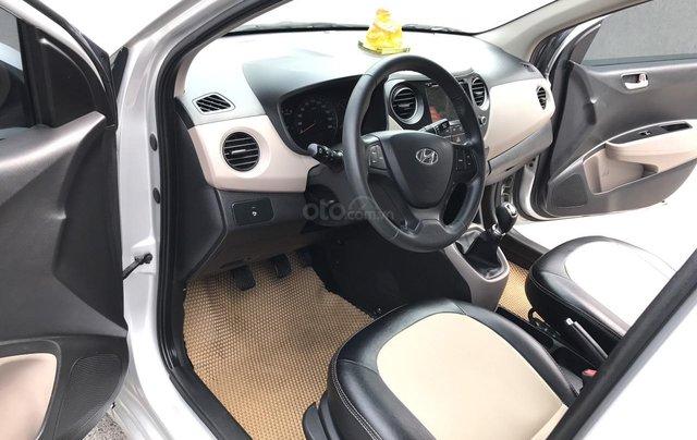 Hyundai Grand i10 1.2 Sport 2016, màu bạc, nhập khẩu. Bản full option bóng khí, đề nổ mới cứng3
