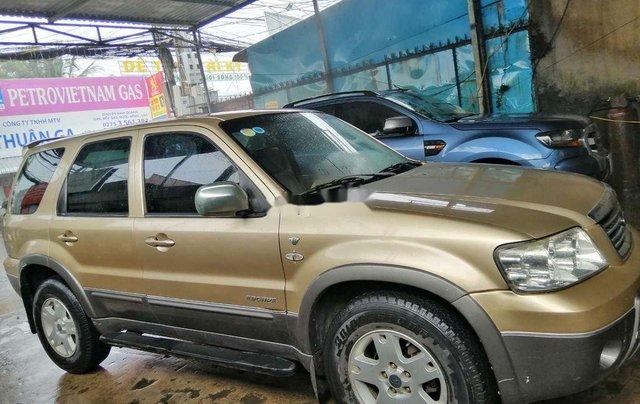 Bán xe Ford Escape đời 2004, màu vàng, nhập khẩu  0
