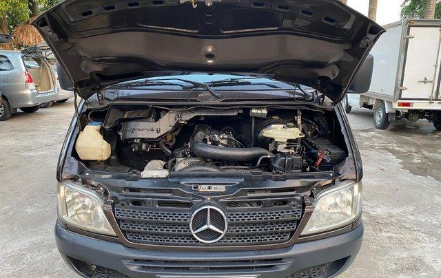 Bán gấp Mercedes tải Van 6 chỗ đời 2007, xe tải van xịn từ mới, máy dầu7