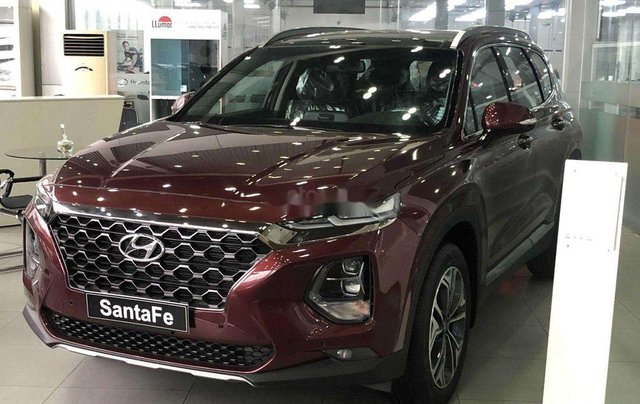 Bán Hyundai Santa Fe 2020, màu đỏ, 985 triệu0