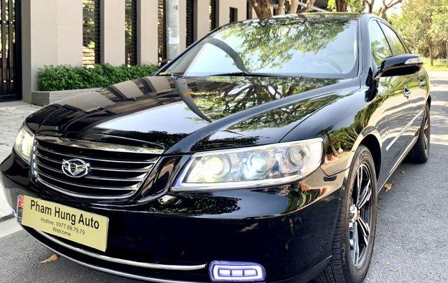Hyundai Azera tự động nhập khẩu màu đen1
