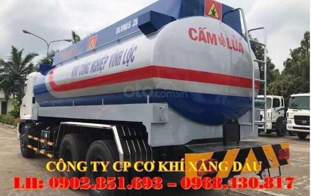 Bán xe bồn xăng dầu 20 khối Hino giá rẻ, xe bồn Hino 20 khối chở xăng dầu giao ngay2