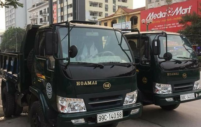 Kinh Môn Hải Dương bán xe Ben Hoa Mai Ben 3 tấn giá tốt nhất miền Bắc0