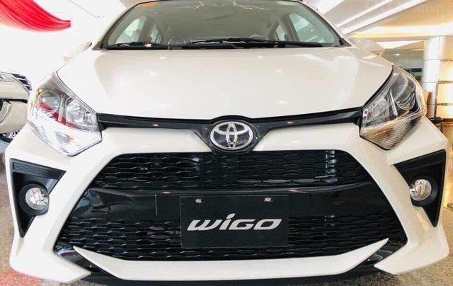 Toyota Wigo 2021 khuyến mãi tiền mặt - tặng phụ kiện- xe giao ngay0
