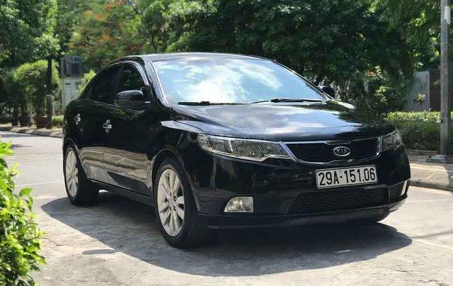 Bán Kia Cerato năm sản xuất 2011, màu đen, nhập khẩu chính chủ, giá chỉ 395 triệu0