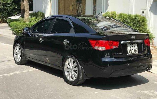 Bán Kia Cerato năm sản xuất 2011, màu đen, nhập khẩu chính chủ, giá chỉ 395 triệu1