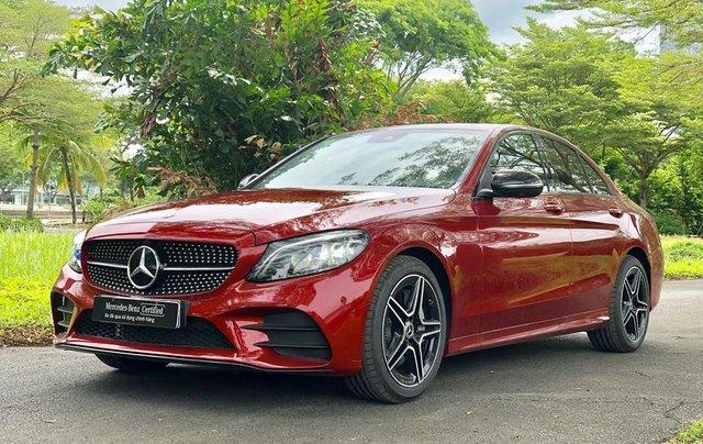 Mercedes-Benz C300 2020 lướt chính hãng, 19 km, giá siêu tốt2