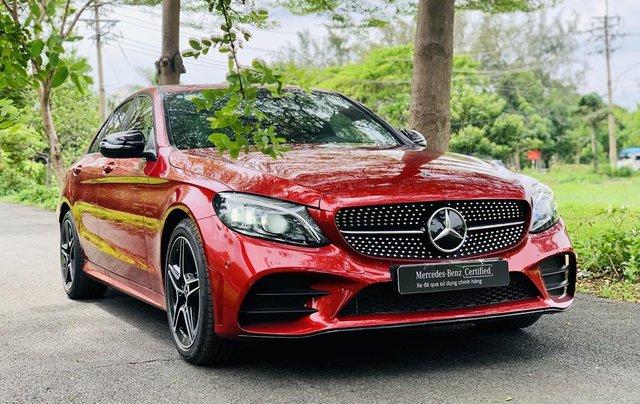 Mercedes-Benz C300 2020 lướt chính hãng, 19 km, giá siêu tốt0