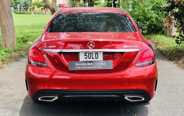 Mercedes-Benz C300 2020 lướt chính hãng, 19 km, giá siêu tốt4