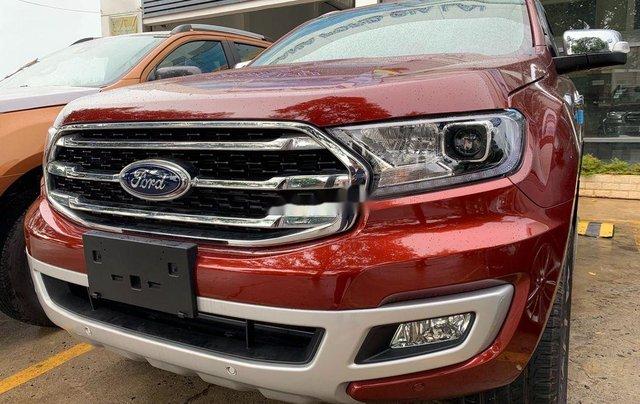 Bán ô tô Ford Everest 2020, màu đỏ, nhập khẩu nguyên chiếc3
