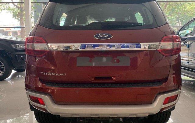 Bán ô tô Ford Everest 2020, màu đỏ, nhập khẩu nguyên chiếc2