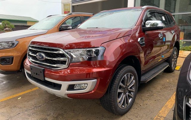 Bán ô tô Ford Everest 2020, màu đỏ, nhập khẩu nguyên chiếc4