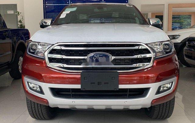 Bán ô tô Ford Everest 2020, màu đỏ, nhập khẩu nguyên chiếc0