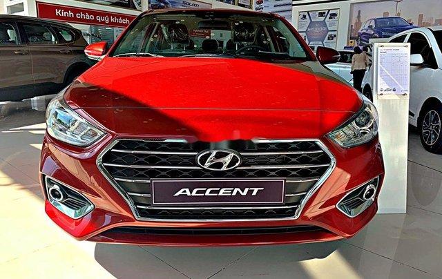 Bán ô tô Hyundai Accent năm sản xuất 2020, màu đỏ, giá tốt, giao xe nhanh0