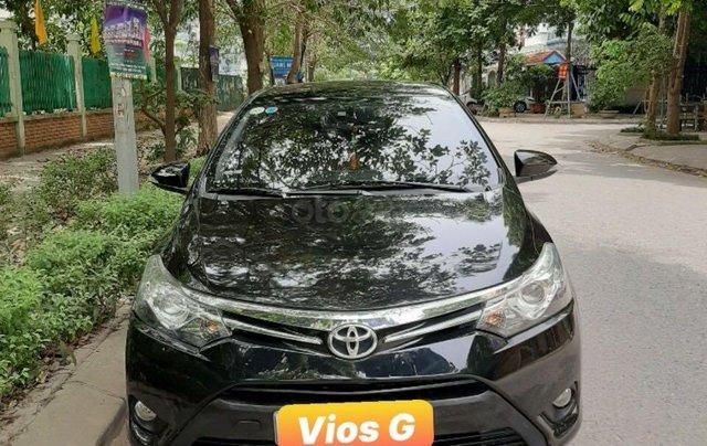 Bán xe Toyota Vios G đời 2014, màu đen chính chủ, giá chỉ 400 triệu đồng0