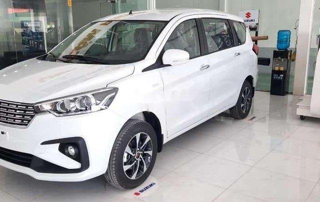 Bán xe Suzuki Ertiga đời 2020, màu trắng, xe nhập, 555tr0
