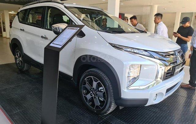 Bán xe Mitsubishi Xpander Cross năm 2021, màu trắng, nhập khẩu nguyên chiếc. Tặng bảo hiểm thân vỏ1