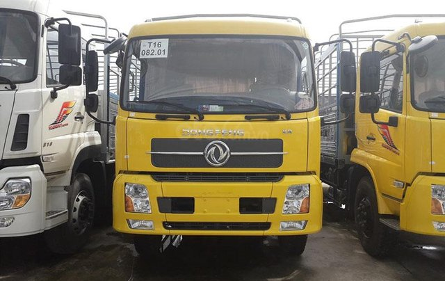 Bán xe tải Dongfeng B180 thùng dài 7m5 đời 2019 - động cơ Cummins tiêu chuẩn Euro 5 - hỗ trợ vay vốn 85% giá tốt nhất1