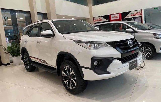 Bán Toyota Fortuner 2.7 AT sản xuất năm 2019, màu trắng0