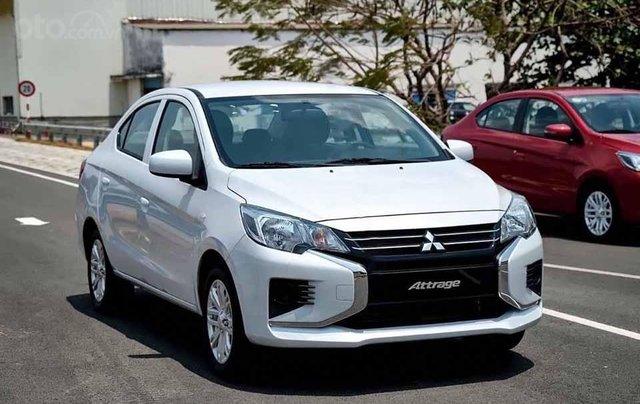Cần bán Mitsubishi Attrage đời 2020, màu trắng, nhập khẩu0