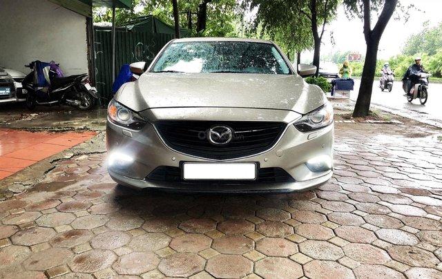 Bán xe Mazda 6 sản xuất năm 2015 đẹp, dàn lốp nguyên0