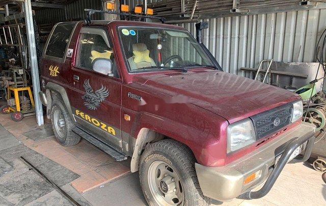 Bán Daihatsu Feroza sản xuất năm 1994, màu đỏ, nhập khẩu, giá 190tr0