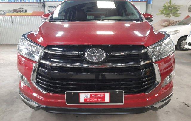 Bán Toyota Innova Venturer đời 2018, màu đỏ, xe gia đình sử dụng đi 38.115 km, đã check hãng, quý khách yên tâm sử dụng0