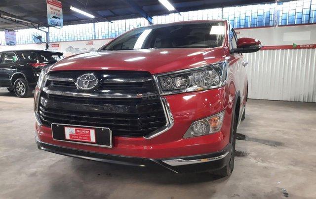 Bán Toyota Innova Venturer đời 2018, màu đỏ, xe gia đình sử dụng đi 38.115 km, đã check hãng, quý khách yên tâm sử dụng2