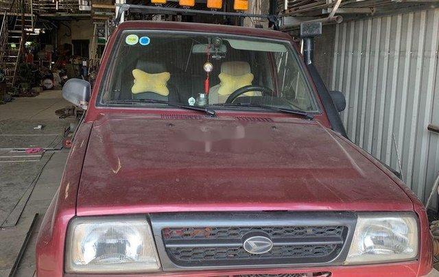 Bán Daihatsu Feroza sản xuất năm 1994, màu đỏ, nhập khẩu, giá 190tr1