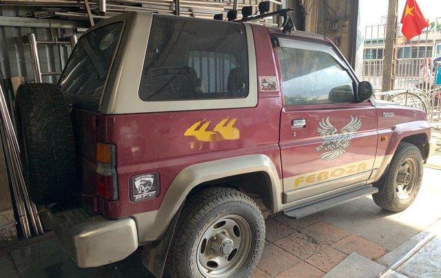 Bán Daihatsu Feroza sản xuất năm 1994, màu đỏ, nhập khẩu, giá 190tr2