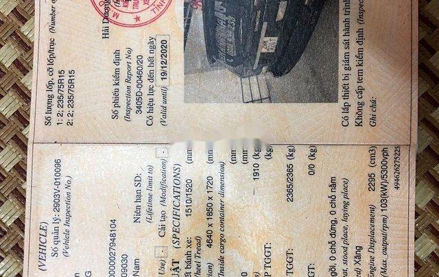Cần bán xe Ssangyong Musso năm 2001, màu đen 1
