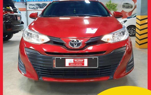 Cần bán Toyota Vios 2019 đi 29.800km, số sàn, xe đã kiểm tra 176 hạng mục, liên hệ để nhận ưu đãi tiền mặt1