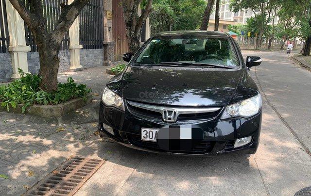Chính chủ bán Honda Civic 2.0 AT 2008, full option, zin chất đẹp1