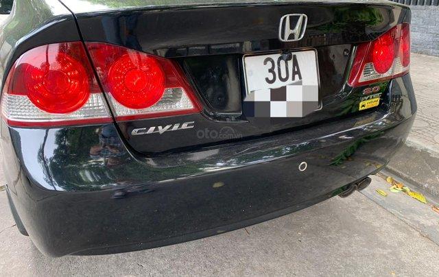 Chính chủ bán Honda Civic 2.0 AT 2008, full option, zin chất đẹp10